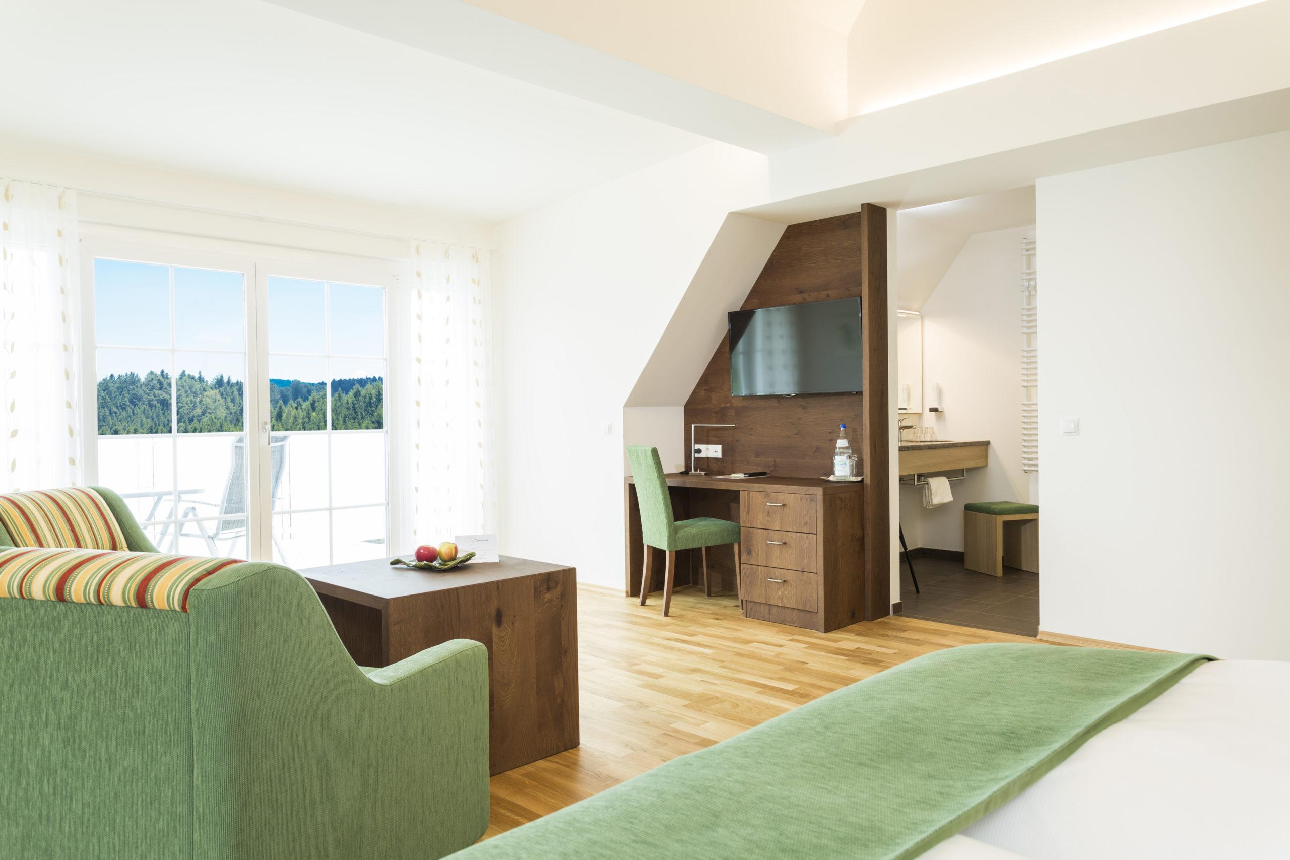 Hotelzimmer Panorama Jungfrau