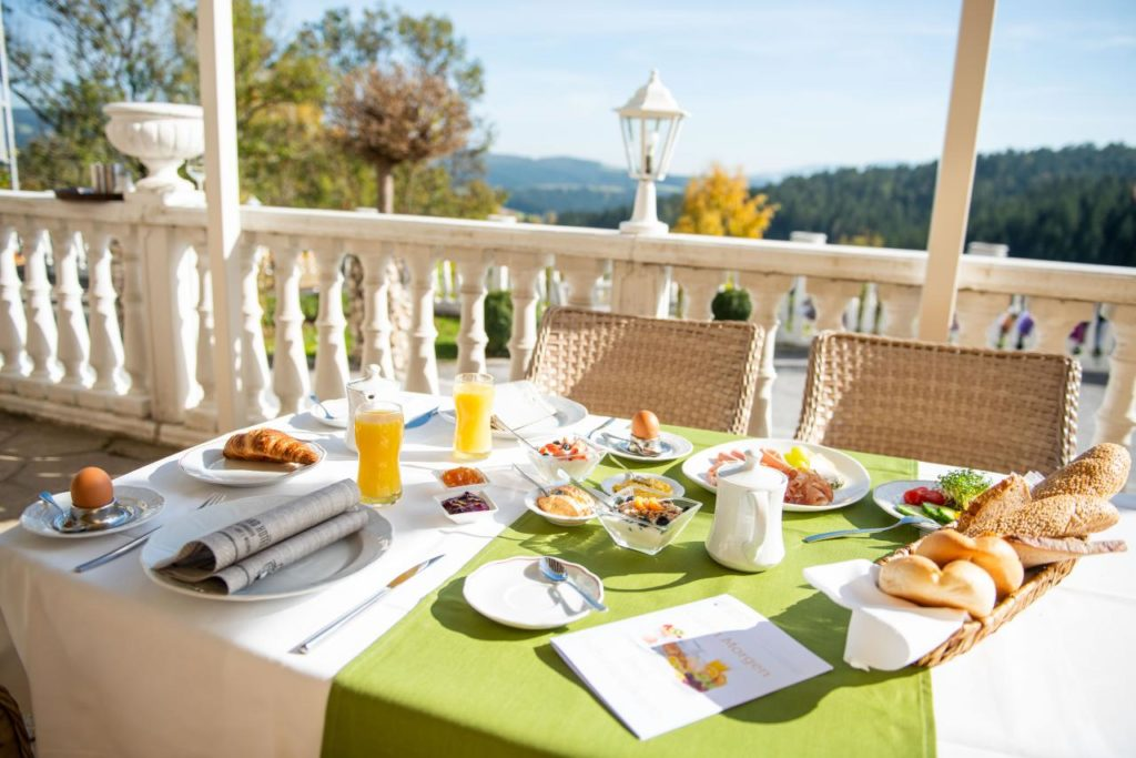 Frühstücken in Wenigzell