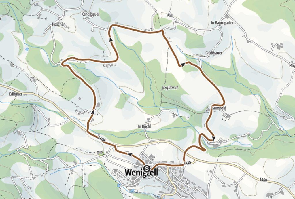 Sanddornrunde Radweg Wenigzell
