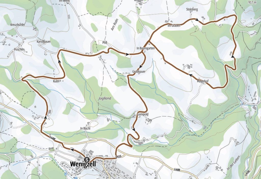 Wadlzwicker-Runde Radweg Oststeiermark