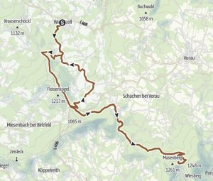 Masenbergrunde Radweg Oststeiermark